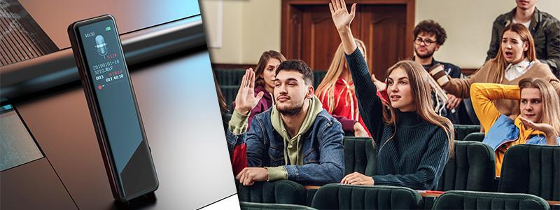 Jaki dyktafon na uczelnie i na co zwrócić uwagę przy wyborze sprzętu do nagrywania wykładów