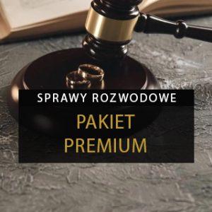 Sprawa rozwodowa - Pakiet premium