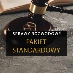 Sprawa rozwodowa - pakiet standardowy